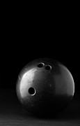 Bowl Photo Prints - Bowling Ball Print by Edward Fielding