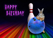 Jeanette K - Bowling Birthday Bunny Rabbit