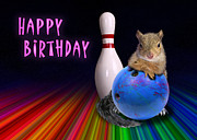 Jeanette K - Bowling Birthday Squirrel