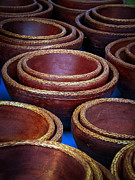 Wooden Bowls Originals - Bowls by Connie Anderson