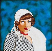 Joan Crawford Paintings - Box Office Poison by Joseph Sonday