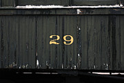 Boxcar Framed Prints - Boxcar Number 29 Framed Print by Art Block Collections