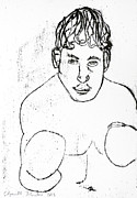 Boxer Drawings - Boxer by Edgeworth Johnstone