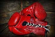 Boxer Prints - Boxing Gloves Print by Paul Ward