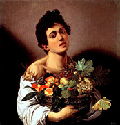 Caravaggio - Boy with a Basket of...