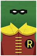 Comic Digital Art Posters - Boy Wonder Poster by Michael Myers