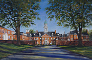 Seminary Paintings - Boyce College at Southern Baptist Theological Seminary by Stacy Ingram