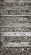 Railroad Ties Prints - Boyertown Ties Print by Trish Tritz