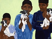 Zoe Kellett - Boys and Puppies