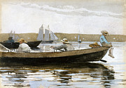 Famous Artists - Boys in a Dory by Winslow Homer