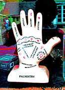 Palmistry Art - Bracelet of Life by Joseph Coulombe