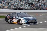 Daytona 500 Photos - Brad Keselowski #2 by Bao D