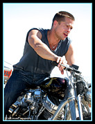 Kip Krause - Brad Pitt on his Harley