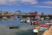 Rockport Metal Prints - Bradley Wharf Metal Print by Joann Vitali
