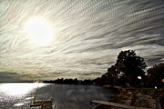 Bath Digital Art Prints - Braided Sky Print by Matt Molloy
