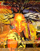 Faith Hope And Love Art - Brain of Baobab by Fania Simon