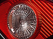 Parallel Lines Prints - Brake Light 56 Print by Sarah Loft