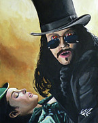 Vampire Paintings - Bram Stokers Dracula by Tom Carlton