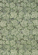 Featured Tapestries - Textiles Posters - Bramble Design 1879 Poster by William Morris