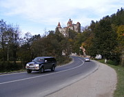 Romania Photo Originals - Bran Castle Romania by Marinescu Dan
