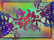 Haze Digital Art Prints - Branches In The Mist 25 Print by Tim Allen
