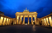 Neo-classical Framed Prints - Brandenburg Gate Framed Print by Dirk Freder