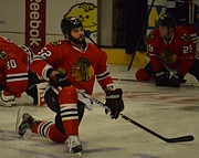 Enforcer Photos - Brandon Bollig by Melissa Goodrich
