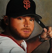 Shortstop Photos - Brandon Crawford by Jena Rockwood