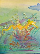 Sea Dragon Paintings - Brandons sea dragon by Peter Debelius