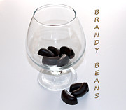 Chocolates Digital Art - Brandy Beans - Liqueur - Chocolate by Barbara Griffin