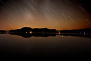 Night Scenes Photos - Brant Lake Beauty by Emily Stauring
