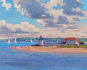 Dianne Panarelli Miller Prints - Brant Point Print by Dianne Panarelli Miller