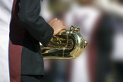 Marching Band Photos - Brass Musical Instrument 04 by Thomas Woolworth