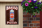 Advertisment Posters - Brasso Polish Poster by James Brunker