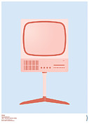 Rams Metal Prints - Braun FS 80 Television Set - Dieter Rams Metal Print by Peter Cassidy