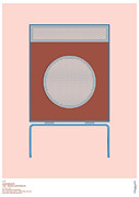 Modernism Framed Prints - Braun L2 Loudspeaker - Dieter Rams Framed Print by Peter Cassidy