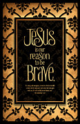 Brave Mixed Media Metal Prints - Brave Metal Print by Shevon Johnson