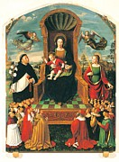 Rosary Prints - Brea Ludovico, The Madonna Print by Everett