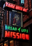 Charity Prints - Bread of Life Mission Print by Benjamin Yeager