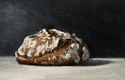 Lebensmittel Prints - Bread Print by Ulrike Miesen-Schuermann