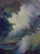 Storm Pastels - Break in the Storm Clouds II by Regina Calton Burchett
