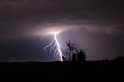 Lightning Storms Photos - Break Out by Reid Callaway