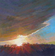Cape Cod Pastels Originals - Break Through by Ed Chesnovitch
