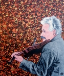 Albert Einstein Paintings - Break Time by Tom Roderick