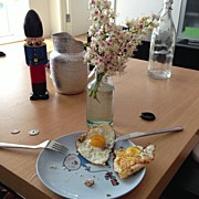 Chokolars Sorensen - Breakfast.. 3 Eggs ;...