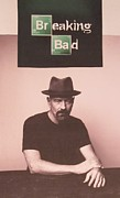 Mustaches Prints - Breaking Bad Print by Donna Wilson