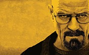 White Digital Art Posters - Breaking Bad Poster by Sanely Great