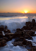 Coral Cove Photos - Breaking Dawn by Mike  Dawson