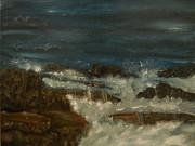 Breaking Waves Print by Nicla Rossini
