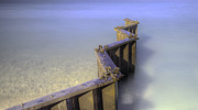Michigan Art - Breakwall at Point Betsie by Twenty Two North Photography